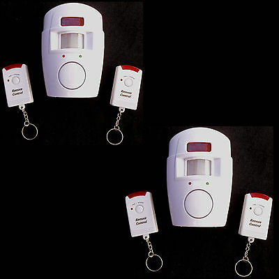 Pir Motion Sense Detector  Security Systems Alarms Lot
