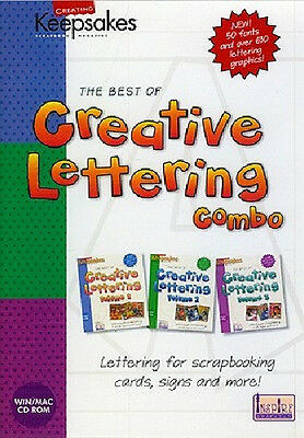 Creating Keepsakes Creative Lettering Combo $2.50 Ship