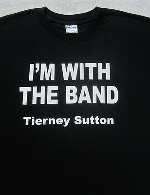 TIERNEY SUTTON i'm with the band LARGE T-SHIRT jazz