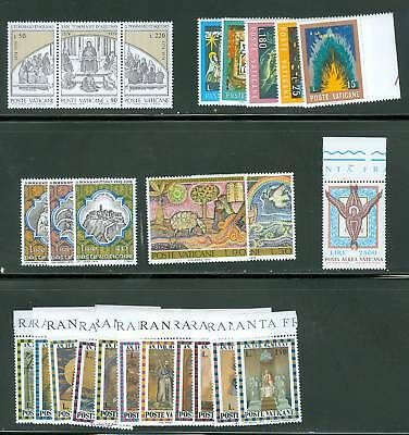 Vatican City 1974 Compete MNH Year Set