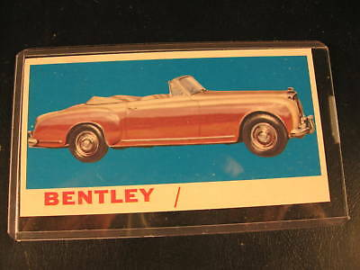 1961 Topps Sports Cars  PROOF Card Bentley