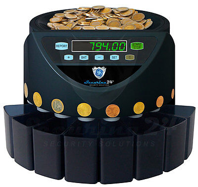Coin counter Coin Sorter Money machine BBB EURO NEW