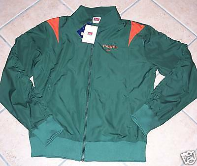 New Miami Hurricanes Windbreaker Jacket Womans Xl