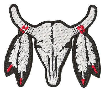 Ecusson patche thermoadhésif Indian Bufalo thermocollant patch