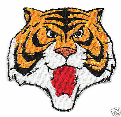Patch Ricamo Toppa Tigerman Uomo Tigre Cartoon Manga Fumetto