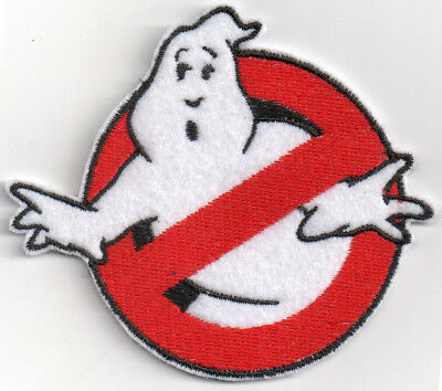 PATCH RICAMO TOPPA GHOSTBUSTERS FILM STEMMA MOVIE CARNEVALE SLIMER cm 8,5x7,5
