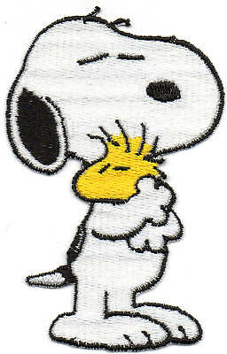 Patch Ricamo Toppa Snoopy