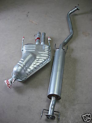 Vauxhall Vectra B 1.6 1.8 2.0 2.2 2.5 2.6 Centre & Rear Exhaust Silencer Box