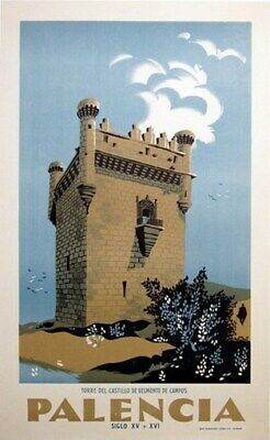LUXEMBOURG VINTAGE TRAVEL POSTER Rare Hot New