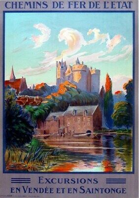 FRANCE VINTAGE TRAVEL POSTER Vendee RARE HOT NEW