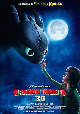 Poster Plastificato Dragon Trainer