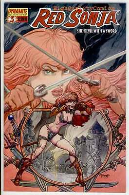 RED SONJA #3, NM, She-Devil, Sword, Mel Rubi, 2005, more RS in store
