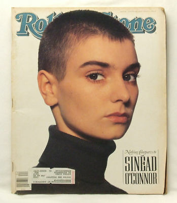 Sinead O'Connor ROLLING STONE Issue 580 OConnor June 14 1990 howard stern IE