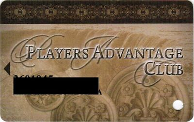 Canada Slot Card Players Advantage Club - Casino Resort Niagara Fallsview