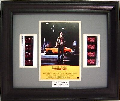 Taxi Driver Framed Film Cell Martin Scorsese
