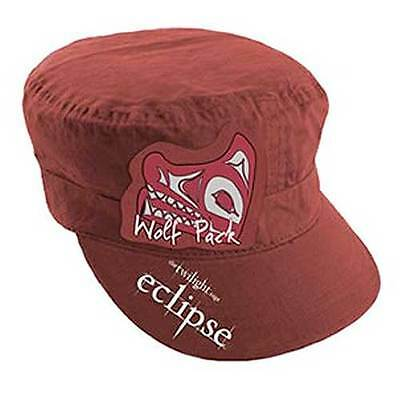 ECLIPSE Wolf Pack Red Cadet Hat Army Cap twilight NEW