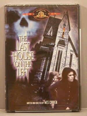 Last House on the Left (DVD, 2002)** NEW** Out of Print 1st Printing David Hess