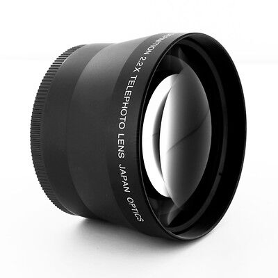HD Telephoto Tele 2X LENS 72mm for Sigma 18-200mm