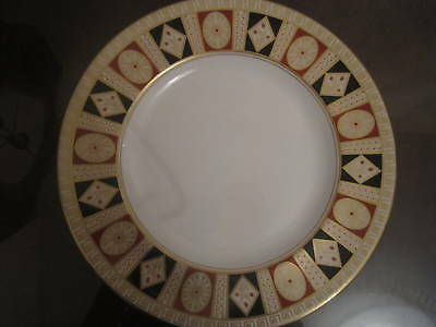 "Royal Doulton Alhambra Medium Plate 8"" NEW msrp $100"