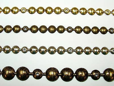 4 Meters Upholstery Strip Studs - Brass Old Gold Chrome