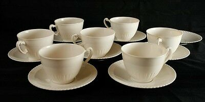 Syracuse SHELLEDGE 7 Cup & Saucer sets