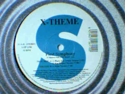 "X-THEME First symphony 12"" RARISSIMO ITALO ZONE"