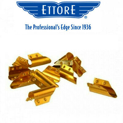 Ettore Brass End Clips pack of 12