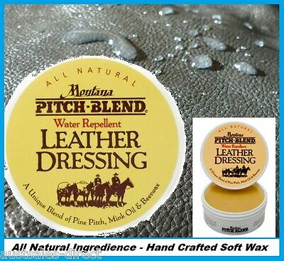 Leather Waterproof Mink Oil Wax Conditioner Cleaner - Leather Reviver Protector