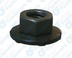 50 M6-1.0 Free Spinning Washer Nuts 16mm O.D. 10mm Hex
