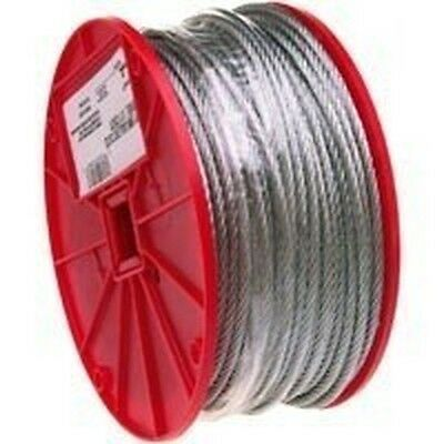 """5/16"""" X 200Ft Roll Galvanized Aircraft Steel Rope Cable"""
