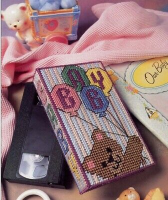 Baby Bear Tissue Box Annie/'s Plastic Canvas Pattern NEW $3 Flat Rate Shipping