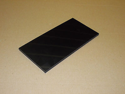 6 mm Black HDPE sheet (300 grade) 200 mm x 200 mm engineering-machining-plate