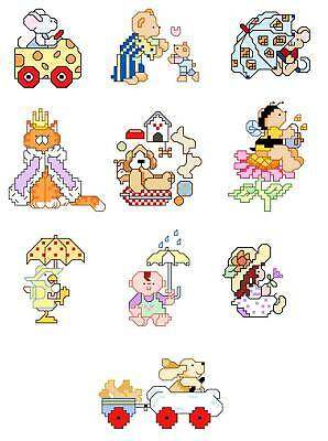 Tiny Pictures Cross Stitch Patterns