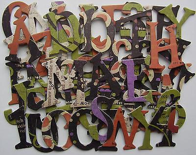 Rusty Pickle *ADDAMS FAMILY* Chipboard Letters