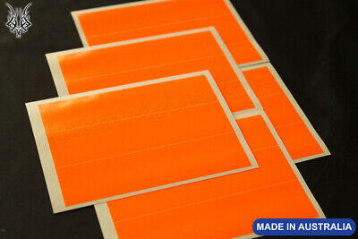 "*** 1 DOZEN 6x1"" FLUORO ORANGE ARROW WRAPS + 2 FREE ***"