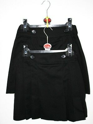Girls New Black School Skirt Buy 1 And You Will Get 2  Skirts For  £4.99