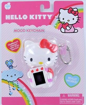 HELLO KITTY MOOD Keychain Keyring SANRIO changes color Basic Fun Retired NEW