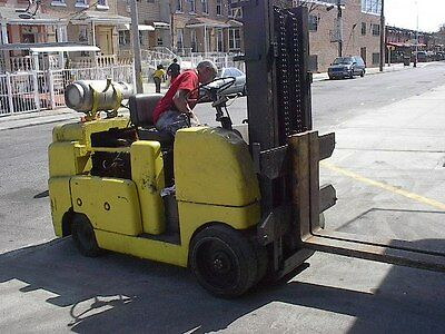 Allis Chalmer Solid TIRE FORKLIFT