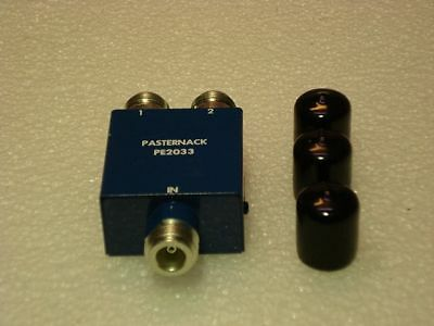 Pasternack PE2033 Waveguide Thermistor Mount, X-Band