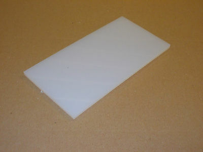 3 mm Natural Nylon6 sheet 300 mm x 150 mm  engineering material  plastic plate