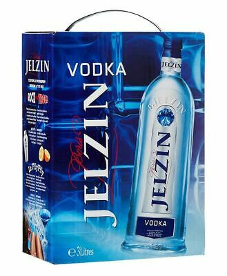 Boris Jelzin Vodka Wodka 3 Liter Bag In Box 37,5%