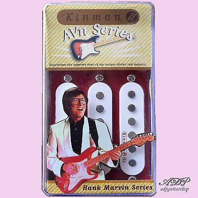MICROS KINMAN HANK MARVIN SET pickups pour STRATOCASTER