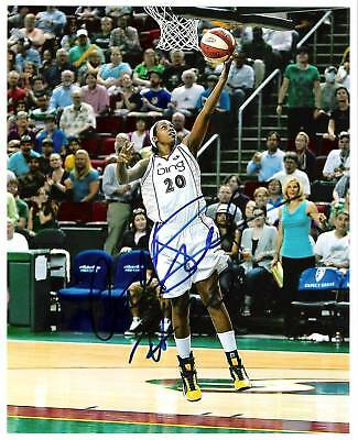 CAMILLE LITTLE AUTO SIGNED 8x10 PHOTO SEATTLE STORM