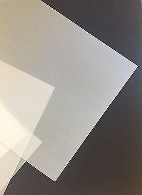 50 SHEETS Vellum Papers WARM WHITE A4 Translucent Vellum 112gsm