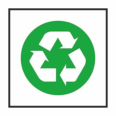 1x Recycle Sign Sticker #02