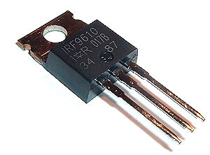 IRF9610 1.8A 200V P-Channel HEXFET MOSFET Transistor 10