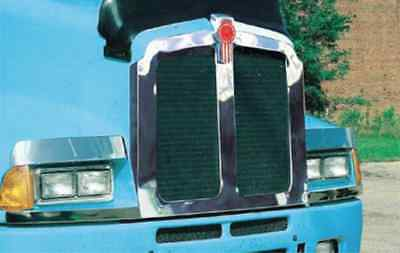 Kenworth T600 Stainless Steel Grill Bezel 1991 & Up