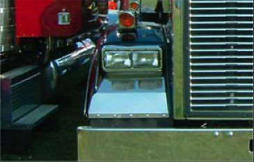 Freightliner Classic Fender Guard 1972-1987 Pair SS