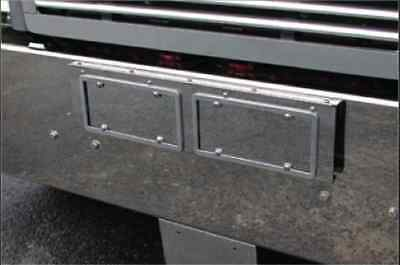 Freightliner Classic Bumper Face License Plate Holder-2