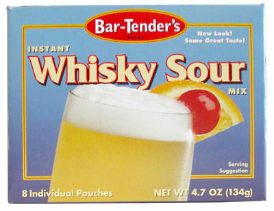 Bar-Tender's Brand Instant Whisky Sour Cocktail Mix 3pk
